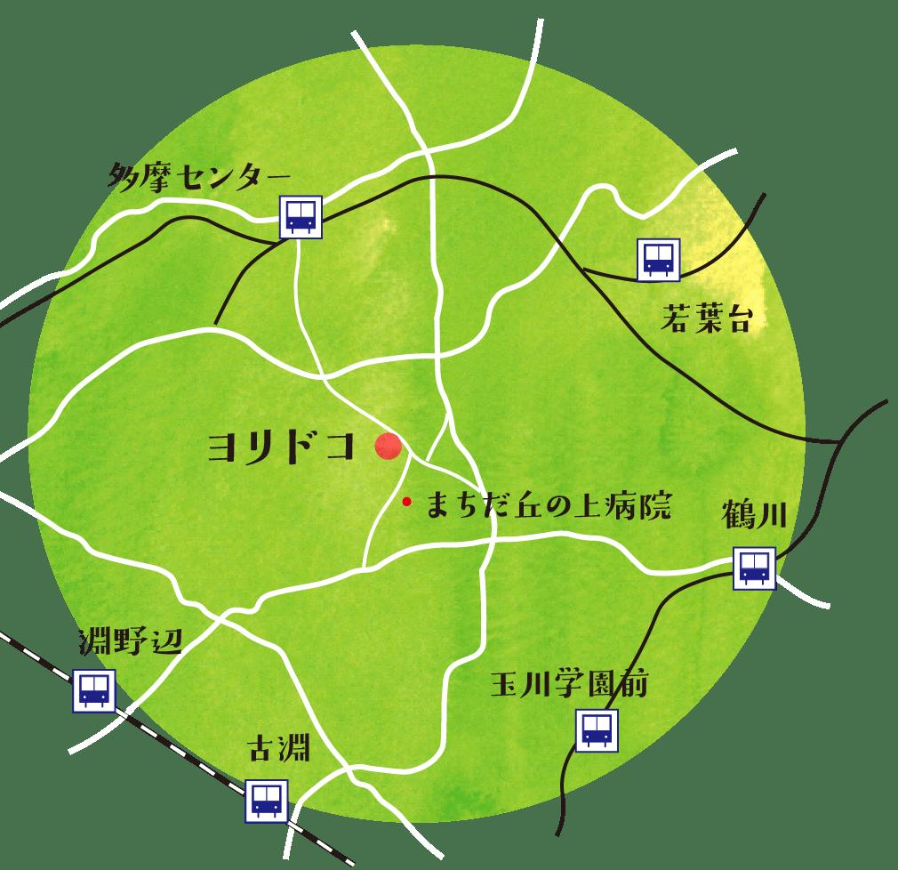 訪問エリアマップ